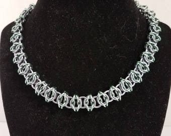 Chainmail Celtic Weave Necklace