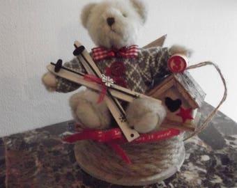 Mountain style Teddy bear