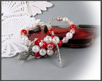 Bracelet Guardian Angel Beads Angel Beads Bracelet Stretch