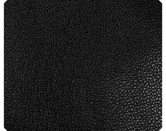Thin 0.7mm Black Leatherette Sheet  A4  8X11 or A5 Size Black Faux Leather Fabric Black PU Leather Perfect for Earrings Jewellery