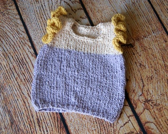 Hand knit baby girl vest, Baby girl vest outfit, knit vest baby girl, baby girl outfit, baby girl clothes knit, baby vest