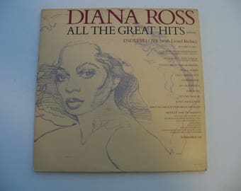 Diana Ross - All Time Greatest Hits -  Double Album Set! - Circa 1981