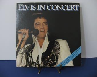 Elvis Presley - Elvis In Concert - Double Record Set! - Circa 1977