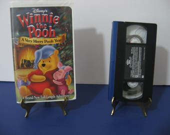 Walt Disney - Winnie The Pooh - A Very Merry Pooh Year - VHS