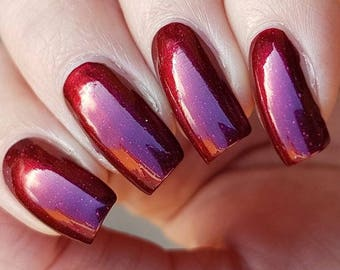 Pre-Order: Pendulum~Shifting Science Collection Deep Red/Purple Multichrome Holo 10ML