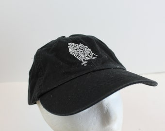 Prayer Hands skeleton hat cap black punk goth