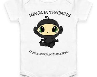 Ninja in Training Baby Clothes
