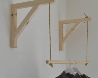Hanging ,Pair of Shelf Brackets, Shelf Brackets and Ladder, Shelf Brackets and Rail !