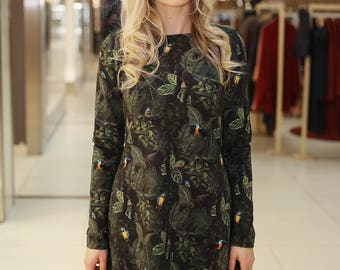 French Terry dress JUNGLE