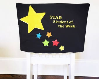 Star Student Chair Cover