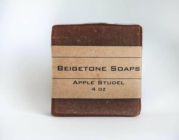 TOP SELLER | Apple Crisp Bath Bar | 4oz | Soft Sweet Fall Scent | Shea Butter | Lots of Bubbles