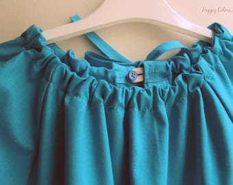 """Coloured apron coat STEINER """"Laces"""" Waldorf Waldorf School (kindergarten, painting and other activities)-for children and adults"""