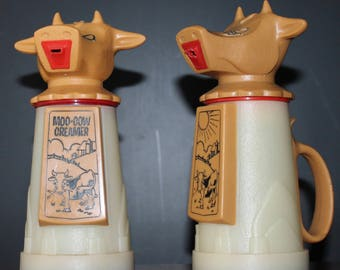 Moo Cow Creamer Vintage Cream Jug Kitsch Kitchen Decor Boho kitchen Decor Retro Cow Figurine Vintage Cow Milk Jug retro Tableware Retro Tea