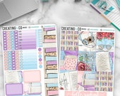Turn the Page HORIZONTAL Weekly Planner Stickers Kit  - MK09