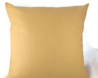 Beige / Light Golden Invisible Zipper Pillow Cover-Custom Pillow Cover