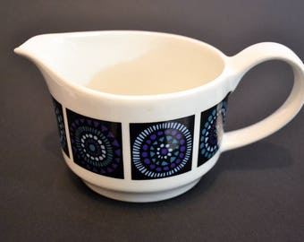 Midwinter Madeira Milk Jug, Staffordshire Pottery