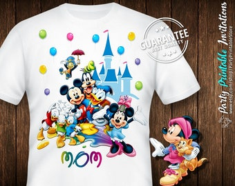 Disney birthday shirt, Disney birthday shirt women, Disney birthday shirt family,family disney shirts personalized