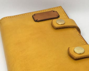 A6 Notebook Leather Cover (with notebook)