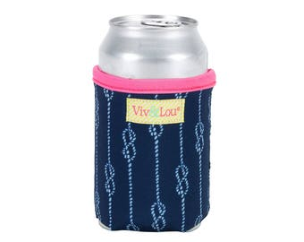 High Tied Drink Wrap * Insulated Can Holder * Bottle Insulator * Insulated Drink Holder Wrap * Gift