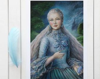 Lady Siniy - Giclée Print