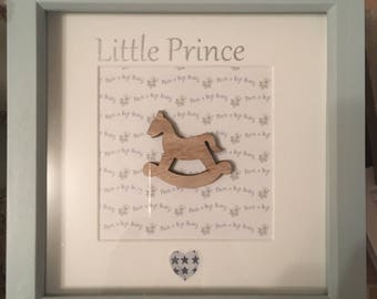 Nursery frame personalised at no extra cost
