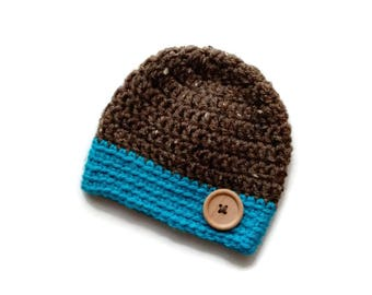 Crochet Baby Hat/Crochet Beanie/Toddler Hat/Crochet Hat/Handmade Warm Hat