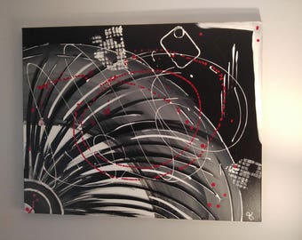 Large Wall Art - 'Lashes' - Acrylic Painting Canvas Art for home Decor