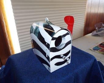 Zebra striped Birdhouse
