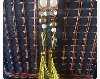 Dripping in Gold Statement Earrings