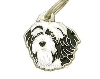 Pet tags MjavHov engraved Tibetan terrier