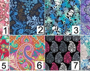 """12""""x12"""" - 12""""x24""""Vera Bradley Inspired """"Tiled""""  Vinyl Sheets Printed and MATTE FINISH Non Laminated"""