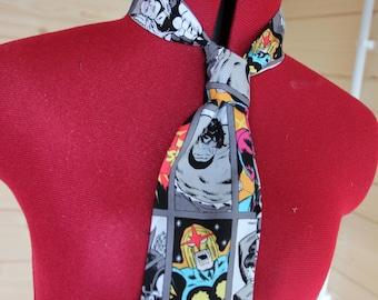 ComicBook Superhero Inspired Classic Tie