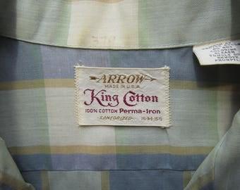 Vintage Arrow King Cotton Circa the 60's