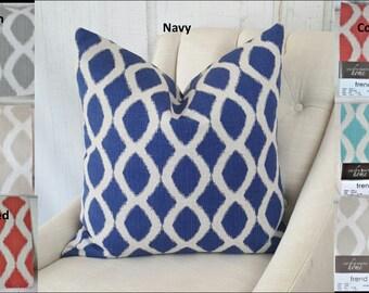 Teal Designer Pillow Covers, Teal Pillows, 24x24, 22x22, 18x18, 16x16, 20x20, 26x26, Lumbar, Accent Throw Covers, Decorative Pillow