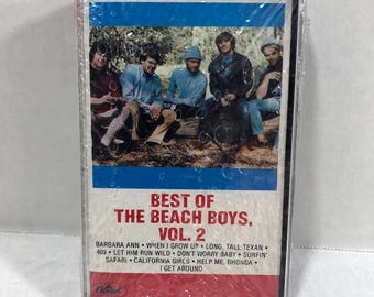 SEALED Best Of The Beach Boys, Vol 2 cassette tape 1980