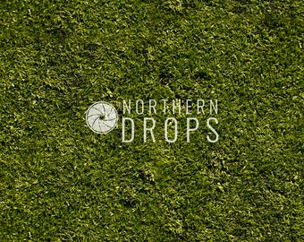 Photography Backdrop - DARK GREEN GRASS background - 5ft x 5ft, 6ft, 7ft. 8ft Dark green photo backdrop - Dark green grass printed backdrop