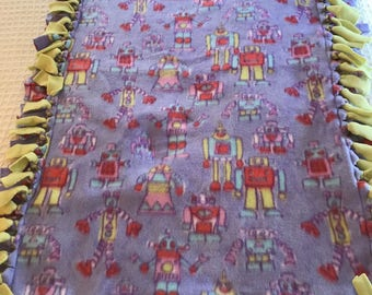 Fleece Tie Blanket Etsy