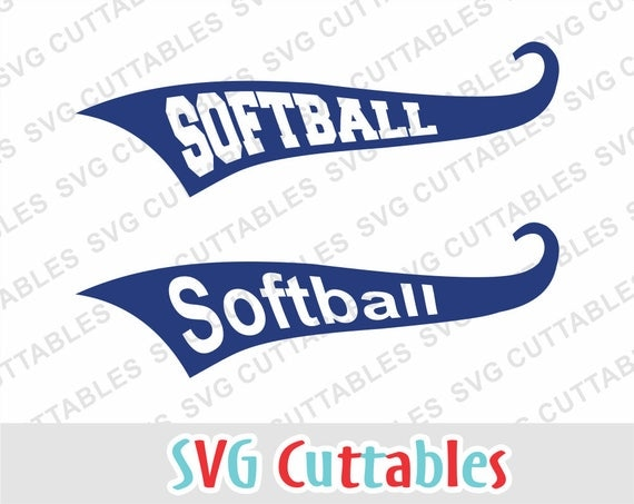 Font Tails Svg Vector Text Tails Font Swoosh Text Swoosh: Softball Svg Softball Text Tail Svg Eps Dxf Softball