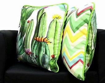 outdoor cushion etsy. Black Bedroom Furniture Sets. Home Design Ideas