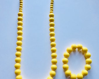 Sale- Yellow Pearl Style Set