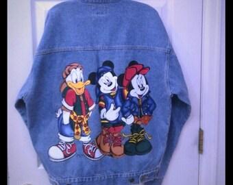 Jerry Leigh Disney Vintage Denim Jacket