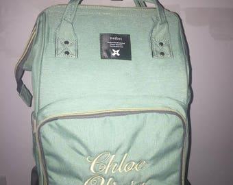 Fashion Mommy Diaper Bag/Baby Bag/Diaper Bag/INSULATED Diaper Bag
