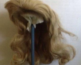 Vintage Long Blonde Doll Wig