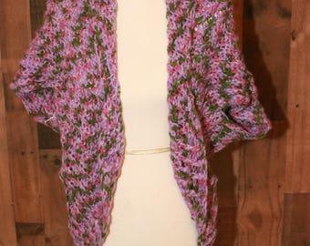 Small Crochet Shrug