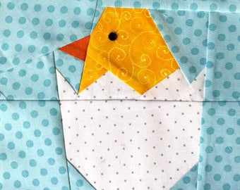 Peepers Paper Pieced Block Pattern in PDF