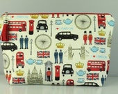 I Love London Zip Bag/ Pouch.