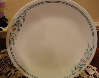 Corelle Rosemarie/Rosemarie Vintage Plates/Corelle Rose Marie Dinner Plate/Corelle Dinner Plate/Vintage Corelle/Made in the USA Corelle