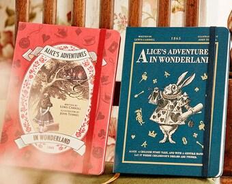 7321 Design Alice's Adventure in Wonderland Diary Vol.28 Undated Planner Scheduler Journal Organizer