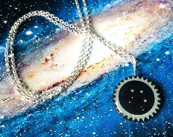 Libra birthday jewellery, pendant for Libra, necklace for October birthday, modern zodiac jewellery, Libra star sign necklace, Libra gift