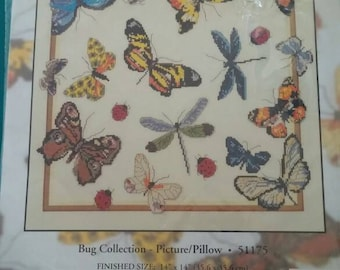 Bug Collection Counted Cross Stitch Kit